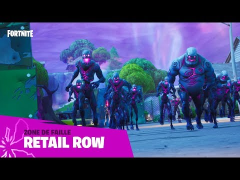 Fortnite - Zone de faille - Retail Row