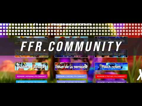 Trailer site internet dédié sur Fortnite | by FFR Community