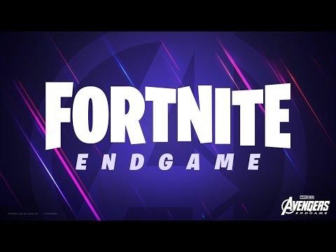 Bande-annonce Fortnite X Avengers: Endgame