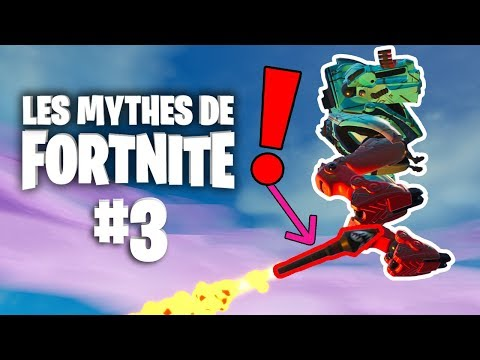 ROCKET RIDE AVEC LA B.R.U.T.E ? | Mythes de Fortnite - épisode 3 feat. Ionix