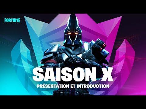 Fortnite - Présentation de la saison X