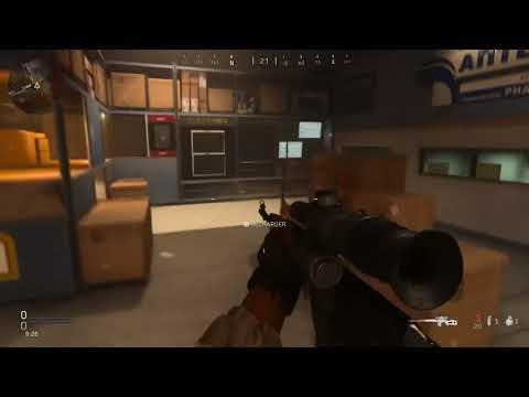 "Call of Duty : Modern Warfare - Easter Egg ""Aisle 9"""