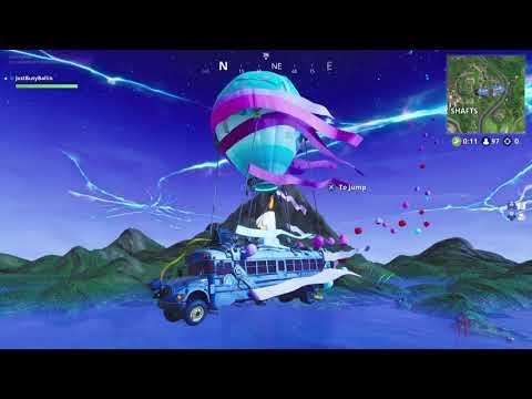 Fortnite - NEW BATTLE BUS SONG (1 YEAR ANNIVERSARY)